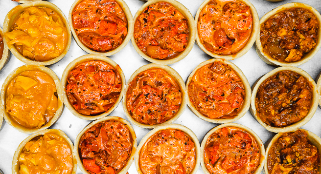 OUR NEW SPECIAL CURRY PIES ARE FASTLY BECOMING THE LOCAL FAVOURITES