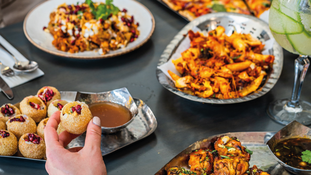 WE TAKE YOU ON A JOURNEY THROUGH THE STREETS OF INDIA WITH OUR NEW MENU!